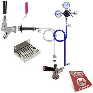 Kegco-Deluxe-Kegerator-Conversion-Kit-Door-Mount-Draft-Beer-Sankey-D-Keg-Tap
