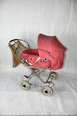 Original Zekiwa Kinderwagen Puppenwagen in Pink DDR Vintage alt Ostalgie VEB #89