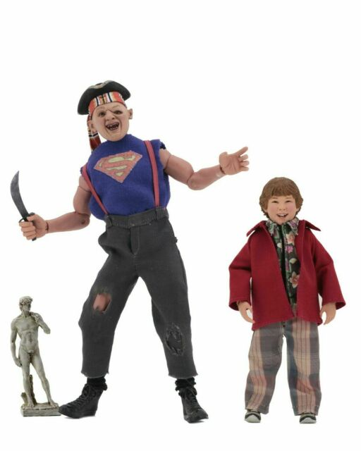 """The Goonies - 8"""" Clothed Action Figures - Sloth and Chunk 2-Pack- NECA"""