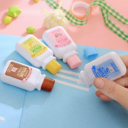 Cute milk correction tape material kawaii stationery office school Best Qua A2P7