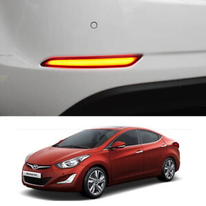 Image Is Loading Led Rear Per Reflector Lights For Hyundai New