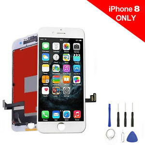 Model A1863 A1906 Screen +LCD Digitizer Assembly Replacement for iPhone 8 +Tool