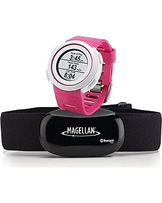 Magellan Echo Smart Sport Watch (With Heart Rate Monitor) (Blautooth Smart) Rosa