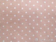 Stoff Ökotex ♥ Baumwolle altrosa nude rosa Pünktchen Patchwork Punkte dots