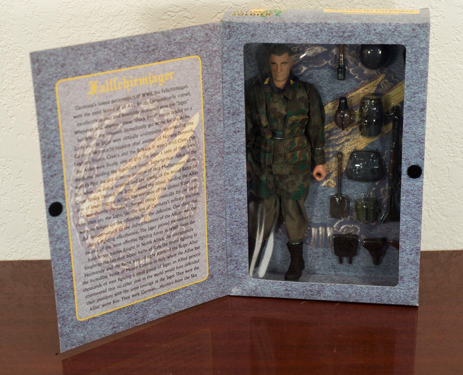 1999 il Ultimate Soldier WW2 Tedesco Paracadutista azione cifra Nuovo di zecca con scatola
