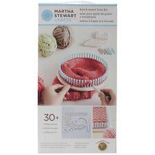 Lion Brand Yarn Company 1 Piezas Martha Stewart Crafts Punto Y Tejido Telar Kit