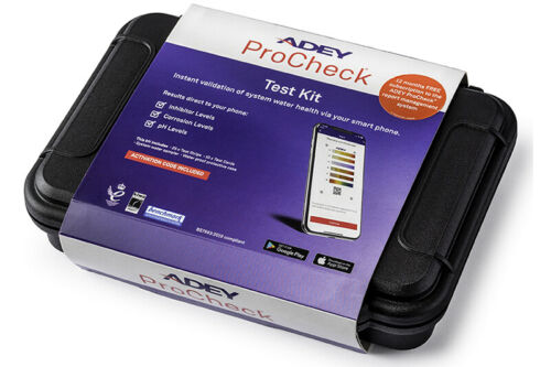 Adey ProCheck Instant Smart Phone Water Testing Kit