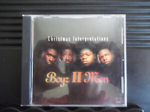 image is loading boyz ii men christmas interpretations like new - Boys To Men Christmas