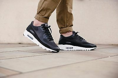 Nike Air Max 90 Ultra Essential BlackDark GreyWhite 819474 013 Mens Sz 11 91205261839 | eBay
