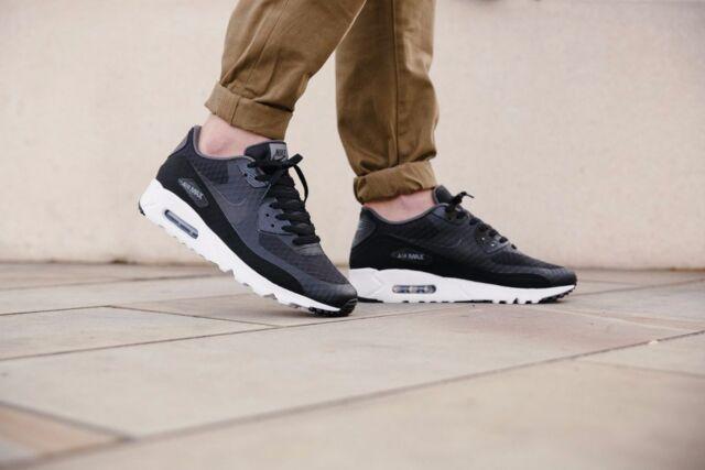 Nike Air Max 90 Ultra Essential Mens Sz 11 Shoes Black 819474 013 eBay