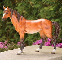 Garden Horse Statue Decor Animal Wild Sculpture Outdoor Yard Lawn Patio Backyard