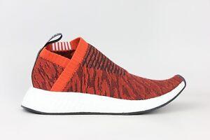 10f592a358cd5 Adidas Originals NMD CS2 PK Primeknit Boost Red Black White Mens ...