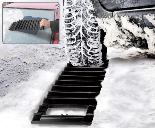Coche 2 en 1 Raspador De Hielo /& Nieve Hielo Tracción De Emergencia MAT atrapados en la lluvia aguanieve Barro