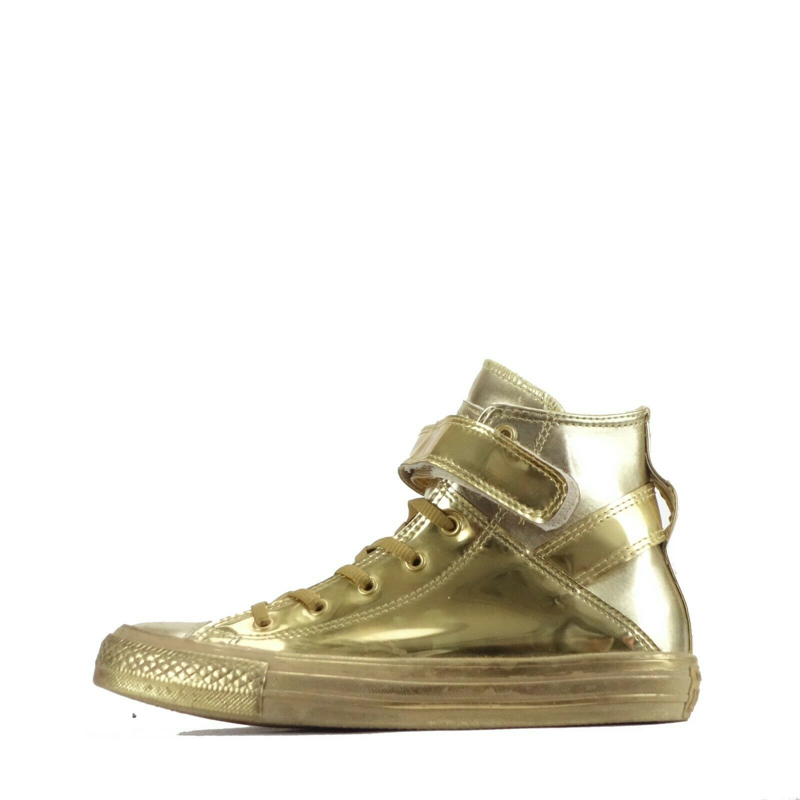 Converse Chuck Taylor All Star Brea Hi Top Women's Trainers Shoes Gold UK 4.5