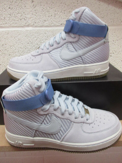 d0897a851005 nike womens air force 1 HI PRM womens hi top trainers 654440 401 sneakers  shoes