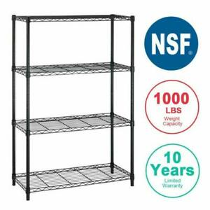 4shelf Wire Shelving Unit Garage Nsf