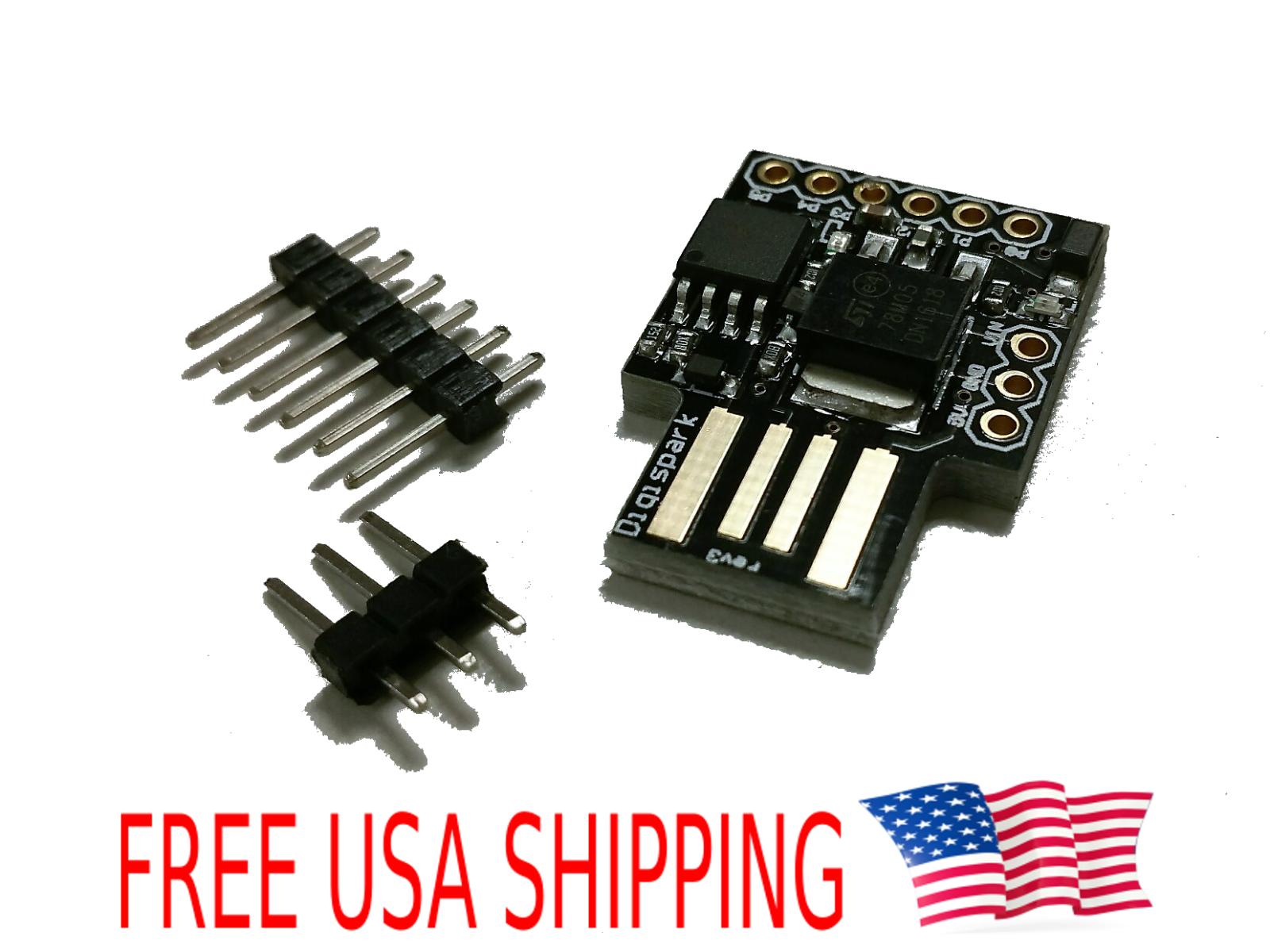 Digispark kickstarter development board ATTINY85 module Arduino usb US Shipping