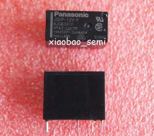 50PCS JQ1P-12V-F 24VDC AJQ6341F 10A 250VAC ORIGINAL Panasonic Relay 5pins