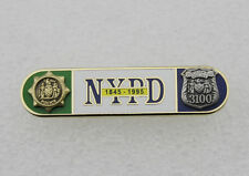 Uniform Citation Bar NYPD 150th Anniversary Bar (1845-1995) of the NYPD