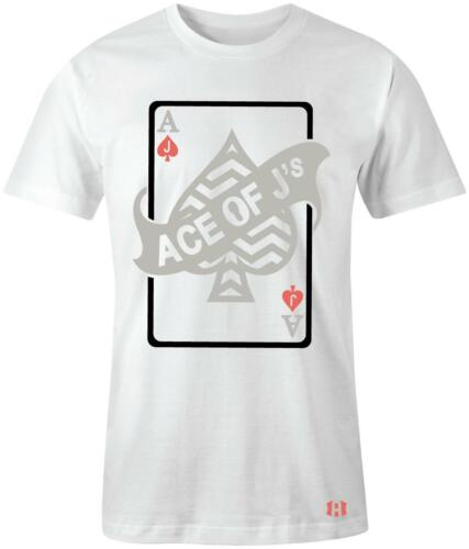 """/""""Ace of J/'s/"""" T-shirt to Match Retro /""""Tinker/"""" 6/'s"""