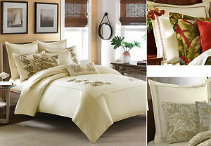 Tommy Bahama Embroidered Tropical Twin Full Queen Duvet