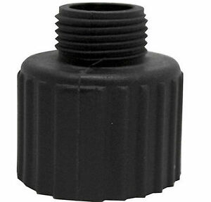 """Garden Hose Adapter for Submersible Sump Pump Water 3//4/"""" 1-1//4/"""" /& 1-3//4/"""" Threads"""