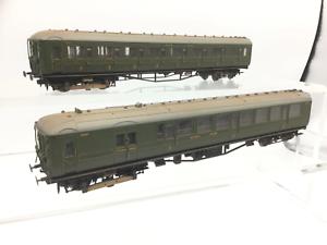 Hornby R3161 OO Gauge SR Green 2-BIL EMU DCC SOUND/WEATHERED