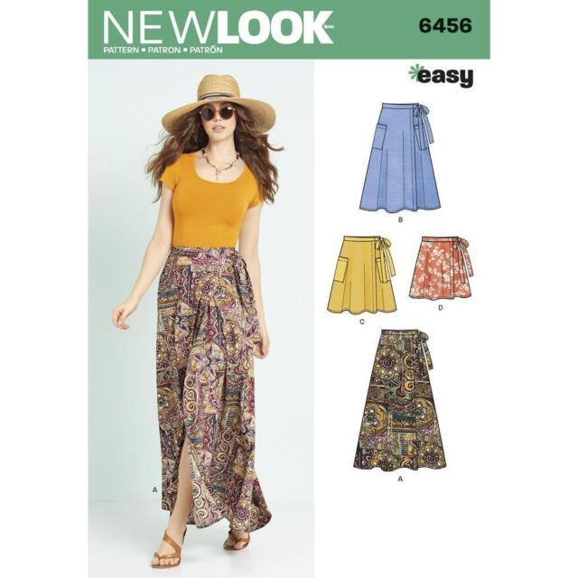K6843 LOOK Sewing Pattern Easy Skirts in 4 Styles Size 6 - 18   eBay