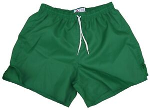 Don-Alleson-Kelly-Green-Plain-Nylon-Soccer-Shorts-Men-039-s-Large-Last-One