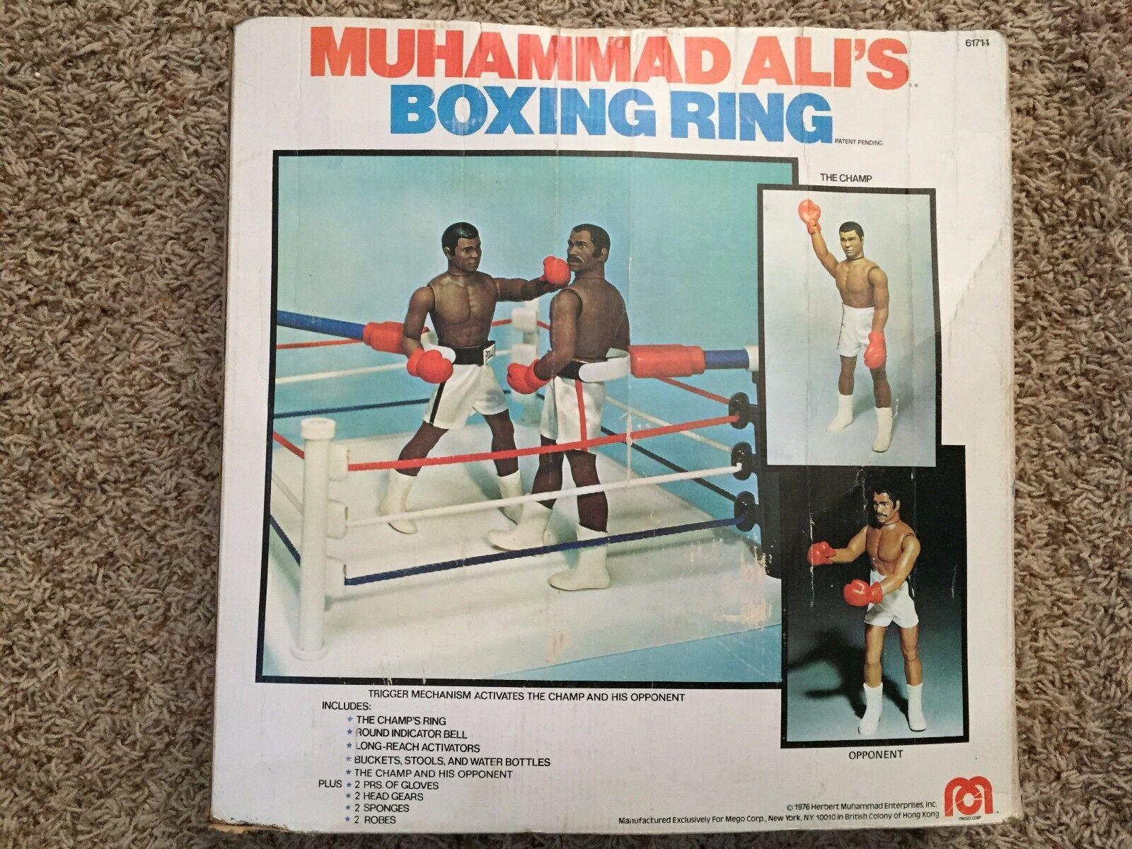 Vintage MEGO 1976 MUHAMMAD ALI'S BOXING RING In Original Box