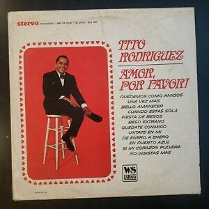 Tito-Rodriguez-034-Amor-Por-Favor-034-Vinyl-Record-LP