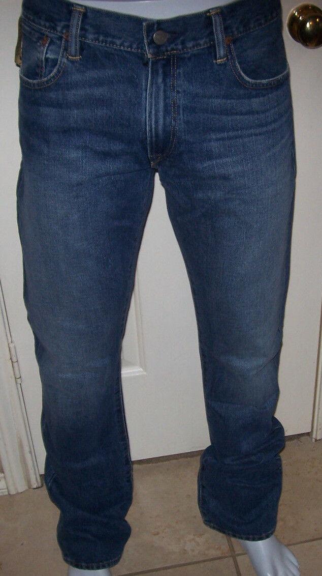 NEW Polo Ralph Lauren Boot cut Fit Cedar medium wash jeans sz 40 x 32
