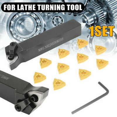 Metalworking Carbide Inserts Tool Blade Turning Tools 20pcs Set Practical