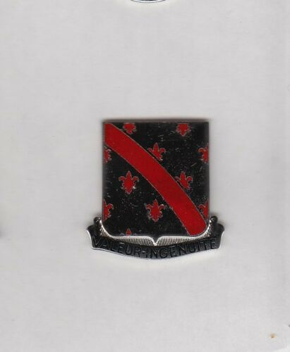 US Army 70th Engineer Bn DUI crest c//b clutchback badge M-21
