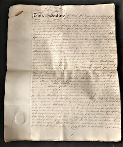INDENTURE-of-1792-BARWELL-amp-MOODY-LONGCROFT-30-PAGES-EACH-with-SHILLING-REVENUE