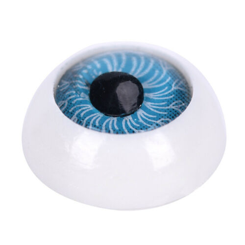 5 Pair Plastic Half Round For Halloween Mask Doll Eyes Fake Mask Eyeballs YL