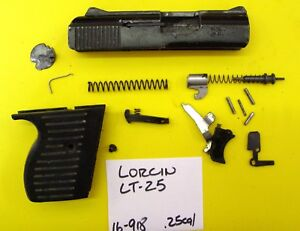 Details about LORCIN LT - 25 PARTS LOT ALL PARTS PICTURED ALL 4 ONE PRICE  #16-918