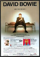 1996 David Bowie Outside JAPAN arista records ad / mini poster advert db06r