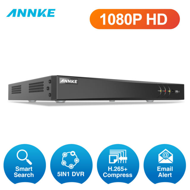 ANNKE 5in1 32CH DVR HD 1080P Video Recorder for Home CCTV Security Camera System