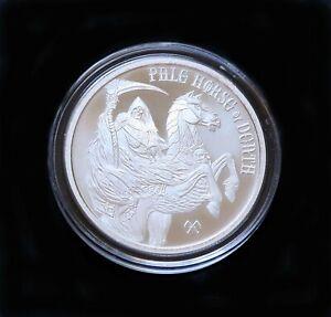 1 oz .999 fine silver Pale Horse of Death 4 Horseman of the Apocalypse coin