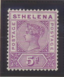 St. Helena Stamp Scott #45, Mint Hinged