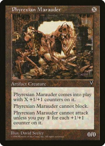 VIS PHYREXIAN MARAUDER 1x Rare Magic Visions MTG Ex Excellent Condition