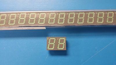 5 PCS HDSP-5603 HP 7 SEG NUMERIC DISPLAY GREEN 14.2mm 10 PIN DIP
