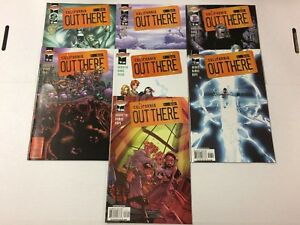 Out There #12 13 14 15 16 17 18 Comic Book Set DC Cliffhanger! 2002