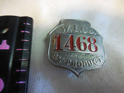 Woodward Iron Company By-products Badge /pin #1468 Elegant In Style Tokens: Other