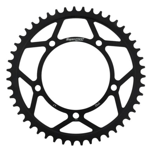 New Supersprox Rear Steel Sprocket Black 47T For Suzuki 1000 GSX-R 01-16