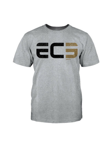 "TNA Impact Wrestling EC3 /""Athletic/"" T-Shirt Official GFW"
