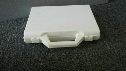 White Empty Small Plastic Box -Pencils Crayons Pastels and much more!
