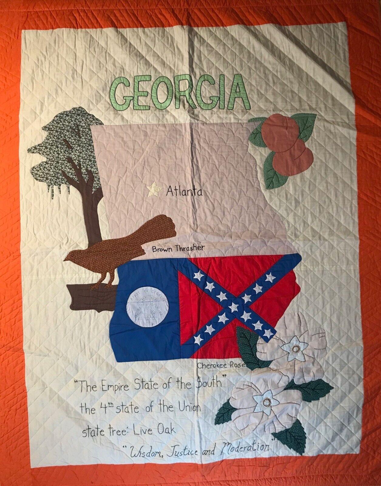 Couette fait à la Main Géorgie