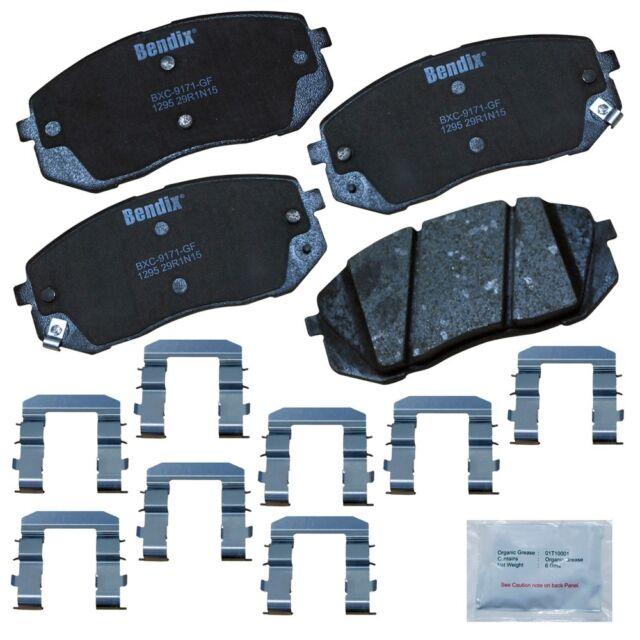 Disc Brake Pad Set-Premium Copper Free Ceramic BPR Disc Brake Pad Front,Rear